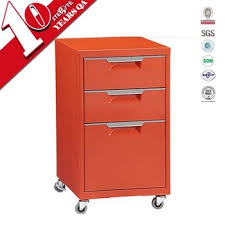 File Cabinets On Wheels Movable Mobile Drawer Filing Cabinet Cupboard Closet Storage