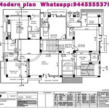 architect home plans good architect house plans with contractors in chennai modern plan