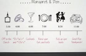 wedding itinerary template for guests wedding day timeline template cyberuse