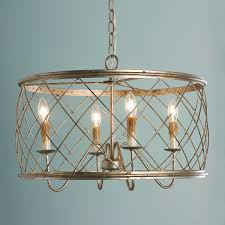trellis cage ceiling chandelier shades of light