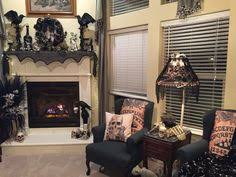 give your living room a modern halloween makeover with a limited