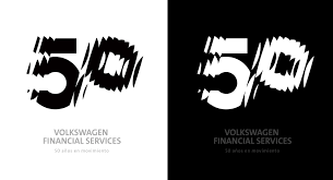 volkswagen logo black and white volkswagen financial services alex trochut