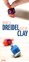 how to make a dreidel out of clay moms and crafters