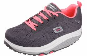 skechers womens shape ups 2 0 fashion sneaker charcoal pink 11 m