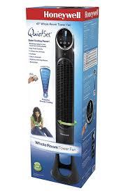 honeywell hy 280 quietset whole room tower fan black honeywell hyf290b quietset 8 speed whole room tower fan