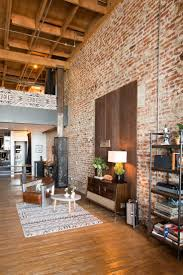 Exposed Brick Wall by Best 20 Brick Loft Ideas On Pinterest Rustic Loft Loft Style