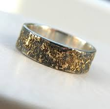 rustic mens wedding bands gold chaos 6 mm rei jewellery
