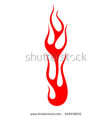 flame vector fire colored tribal flames stock vector 649338010