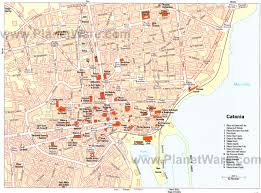 Map Of Italy And Sicily by Catania Sicily Italy Cruise Port Of Call