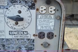 lincoln shield arc sa 250 welder generator item z9287 so