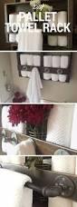 best 25 pallet towel rack ideas on pinterest diy ladder
