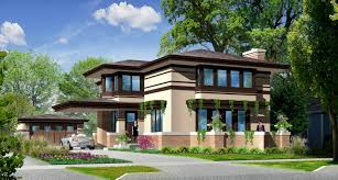 prairie style house plans prairie style home for sale in elmhurst il prairiearchitect