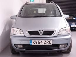 vauxhall zafira used silver vauxhall zafira for sale hampshire