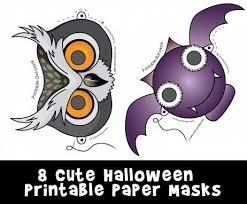 cute printable halloween animal paper masks woo jr kids activities