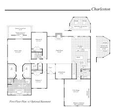 charleston row house plans house illustration home rendering classic homes floor plan