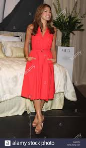 sears home decor canada sept 17 2010 toronto on canada eva mendes promotes her