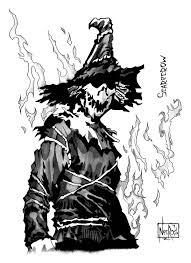scarecrow by thenecros on deviantart batman vogelscheuche batman