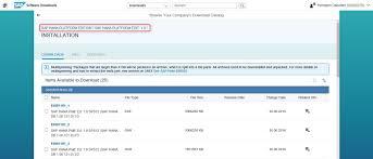 quickstart manual installation of single instance sap hana on