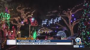 palm harbor christmas lights last year for snug harbor christmas lights wptv com