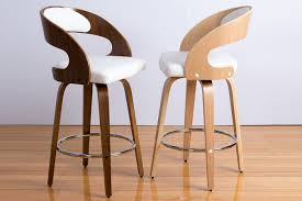 timber bar stools mia swivel oak or walnut engineered timber bar stool bespoke