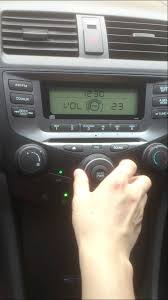 2003 honda accord radio problems ask for help stereo cd player booming problem 2007 honda