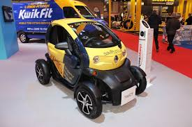 twizy renault renault twizy savills at the cv show 2016 commercial vehicle dealer