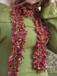 hairpin lace lace scarf