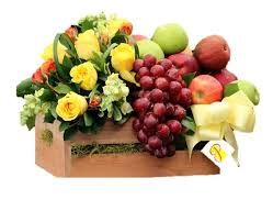 fruit and flowers fruits flowers box in pembroke pines fl patty s flowers and