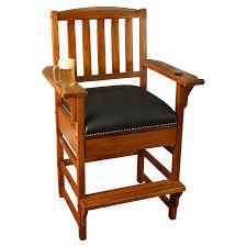 American Heritage Pool Tables Amazon Com American Heritage King Billiard Game Room Chair 387216