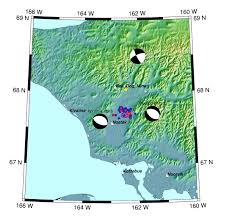 Washington State Earthquake Map by Second Shake U0027 Rattles Noatak Northwest Brooks Range