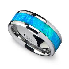 blue wedding rings wedding rings mens wedding ring blue mens wedding ring