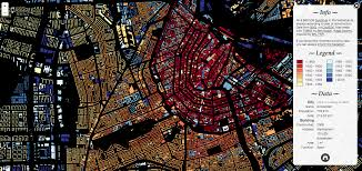Map Of Amsterdam Gallery Of Software Engineers Map All The Buildings In The