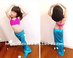 Mermaid Halloween Costume Toddler Mermaid Tail Costume Picture Detailed Picture Child