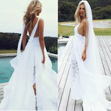 spaghetti wedding dress new arrival spaghetti straps backless wedding dress bridal