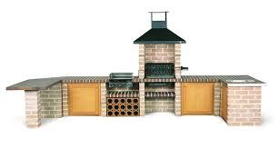 comment construire une cuisine exterieure ordinaire cuisine d ete barbecue 5 barbecue pacema objet d233co
