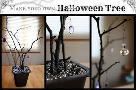 orange halloween tree halloween tree tutorial happyandsimple