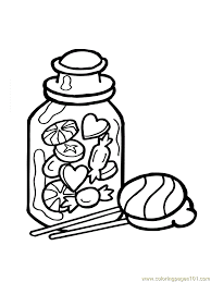candy coloring pages candy box coloring page free candy coloring pages