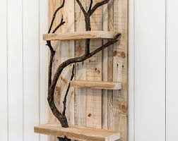 Wood Home Decor Items Similar To 12x48 Tree Branch Wall Wall Sculpture Tree