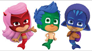 pj masks bubble guppies coloring pages for kids pj masks