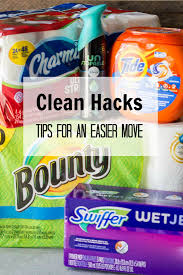 clean hacks tips for an easier move eazy peazy mealz
