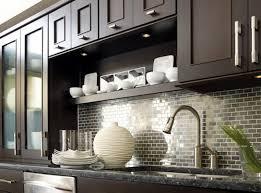 Metal Tile Backsplash Brown Metal Modern Kitchen Backsplash Tile - Stainless tile backsplash