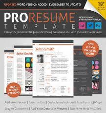 cv made professionally 20 awesome premium psd resume cv templates