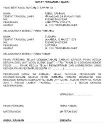 contoh surat pernyataan format a1 contoh perjanjian kerja pkwt pkwtt ini berisi ketentuan yang