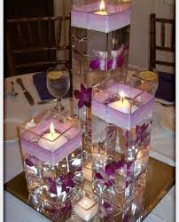 purple centerpieces purple wedding centerpieces