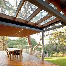 terrasse transparente toiture transparente pour terrasse avec cadre en aluminium oak