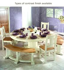 curved dining table elegant dining table with curved legs and
