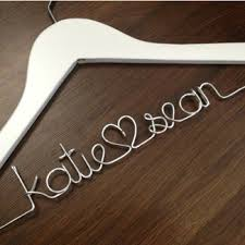 personalized wedding hangers personalized wedding dress hangers for the my
