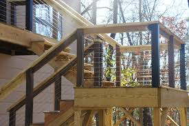Porch Stair Handrail Exclusive Ideas Cable Stair Railing Translatorbox Stair