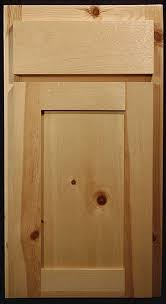 kitchen cabinet doors pine knotty pine shaker style cabinets paintable shaker style