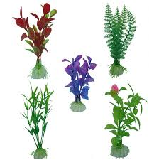 5pcs green artificial plants simulation flowers home hotel store